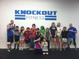 kids fitness and boxing classes