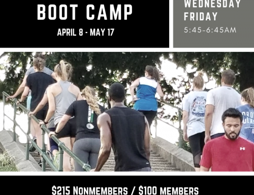 BOOT CAMP – Starting April 8th!